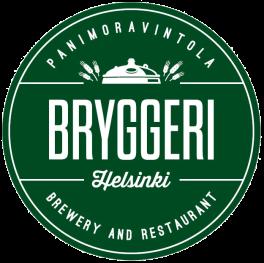 Bryggeri logo vihreä pyöreä