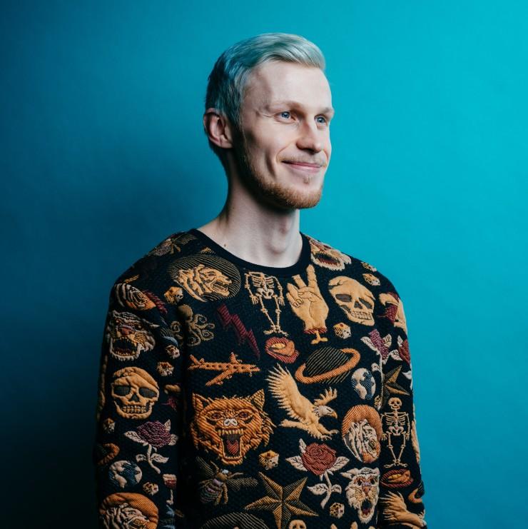 Roni Bäck on ehdokas vuoden positiivisimmaksi helsinkiläiseksi 2019